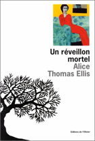 Couverture: Un réveillon mortel de Alice Thomas Ellis